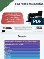 Blogs en Las Relaciones Públicas Resumen - #TICsRP