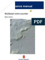 EM120 Multibeam Echo Sounder Maintenance Manual Rev A