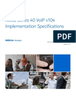 Series 40 VoIP v104 Implementation Specifications v1 0 En