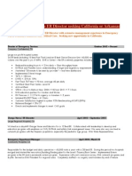 ER Director Seeking California or Arkansas Post Medical Resume Physician CV