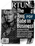 Darla Moore Fortune Article