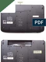 Desarmar y limpiar Notebook 15,6´´ (Acer Aspire 5536) después de 2 años de uso