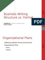 4-F11 Business Writing Process