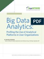 AST-0060878 Wayne Eckerson Research Report Big Data Analytics Final
