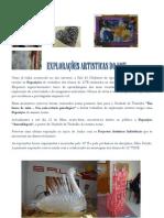 EXPLORAÇÕES ARTISTICAS DO 12ºE