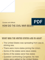 How Did the Civil War Begin (2)