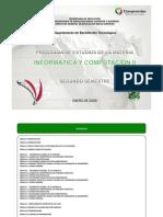 INFORMATICA Y COMPUTACIÓN II