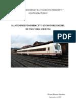 Mantenimiento Predictivo en Motores Diesel de Traccion Serie 594