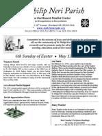 May13th Bulletin