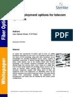 WP0002 - FTTH Deployment Options for Telecom Operators