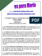 7 FLORES PARA MARIA | ALIANZA DE AMOR