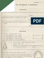 Exame 4ª. Classe 1968