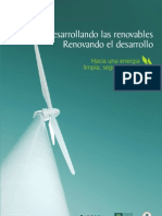 Desarrollando energia renovable