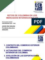 Retos de Colombia Intern Ales - Oct 25 de 2011