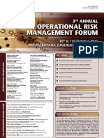 Third International Operational Risk Management Forum Dubai