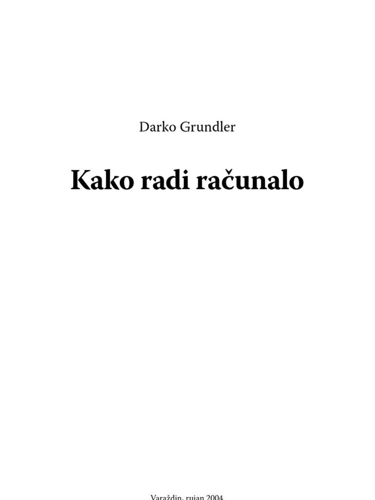 Darko Grundler Kako Radi Raunalo Additional Privileges View Printed Circuit Boards Tiskane Ploice