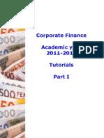 opdrachten ondernemingsfinanciering