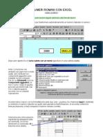 NumeriRomani Con Excel