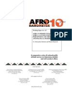 Afrobarometer_African Perspectives on China-Africa