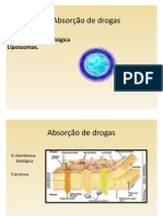 ABSORÇÃO DE DROGAS