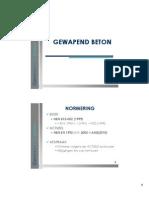 GB Eigenschappen Beton 2012 Deel 1