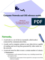 Computer Networks and OSI Reference Model[1]