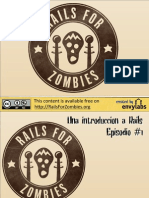 Rails for Zombies Slides Spanish