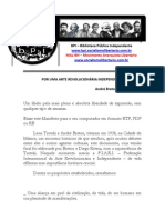 Por Uma Arte Revolucionaria Independente - Andre Breton e Trotsky - Bpi