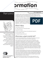 Plant Science - Information