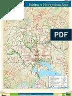 2012 Baltimore Bike Map