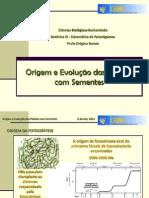 Aula 2_Origem e Evolução das Plantas com Sementes