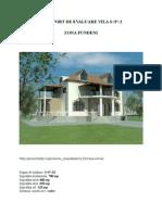 PROIECT de Evaluare Economica Vila s+P+2E-Fundeni