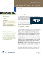 Weekly Economic Commentary 5-09-12