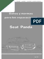 Seat Panda Datos y Normas Para Las Reparaciones