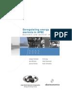 Deregulating Energy MARKETS in APEC