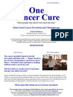 One Cancer Cure - March 2012