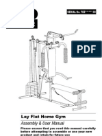 PRO POWER Lay Flat Home Gym Inst(DI)v-08