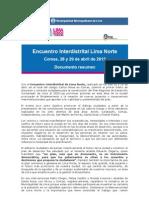 Encuentro Interdistrital LN 28-29.04 Final Web