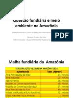 Questão fundiária e meio ambiente na Amazônia