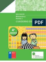 cuaderno matematica 4 año