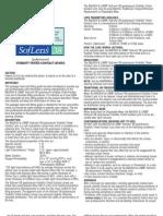 SofLens 38 Info Sheet