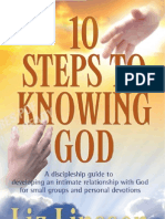 10 Steps to Knowing God - Free sample pages