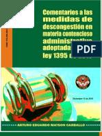 COMENTARIO a LAS MEDIDAS de LA LEY 1395 DEL 2010 en Materia Contencioso Administrativa
