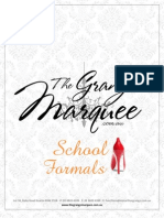 Marquee School Formals Package 2012