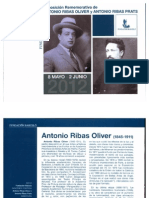 Antonio Ribas Oliver y Antonio Ribas Prats, pintores