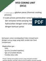 Delayed Coking Unit (Dcu)