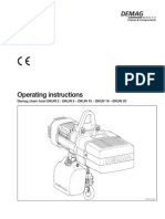 Demag DKUN Hoist Operating Manual