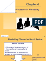Behavioral Process in Marketing Channels