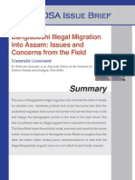 Bangladeshi Illegal Migration Into Assam