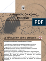 La Innovacion como proceso